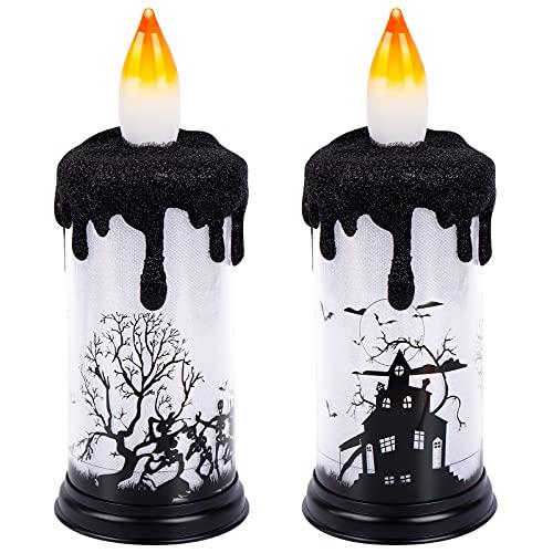 Halloween Flameless Candle