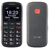 simvalley MOBILE Handy für Rentner: Komfort-Handy mit Bluetooth und Garantruf Premium, Fotokontakte (Tastentelefon)