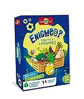 Bioviva- Enigmes-Fruits et Légumes, 283588, Multicolor, 11 x 3,5 x 15,5