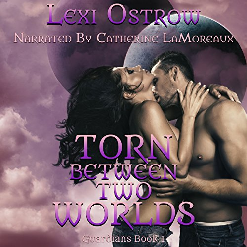 Torn Between Two Worlds audiobook cover art
