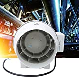 Controlador de velocidad del soplador de aire de presurización de flujo Accesorio de ventilador de...