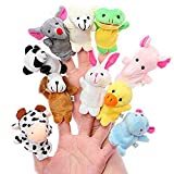 Mackur Tier Fingerpuppen Kind Puppen Finger Karikatur Tiere Spielzeug 10 Stück