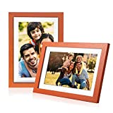 Digital Picture Frame Cloud Digital Photo Frame Email Pictures 10 Inch Upgraded Picture Frames Email Wood WiFi Picture Frame IPS Digital Frames for Photos Share via Facebook Twitter App Digital Frame
