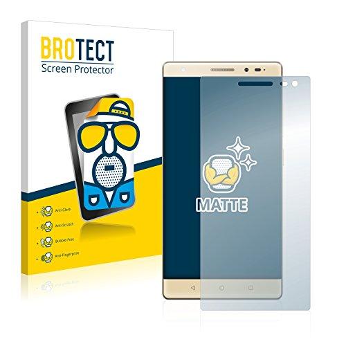 BROTECT 2X Entspiegelungs-Schutzfolie kompatibel mit Lenovo Phab 2 Pro Bildschirmschutz-Folie Matt, Anti-Reflex, Anti-Fingerprint