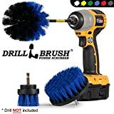 Cleaning Supplies - Drill Brush - Boat Accessories - Marine Spin Brush Set - Kayak - Raft - Boat - Canoe - Inflatable - Fishing Boat - Algae - Pond Scum, Oil Residue, Barnacles, Oxidation