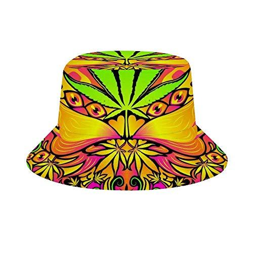 NA Sombrero unisex de algodón plegable para verano, playa, sol, bandera canadiense