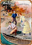 KODY HYDE Metall Poster - Bristol Steel Fishing Rods -