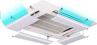Aire acondicionado deflector de viento Aire Acondicionado Central Cubierta de Salida de Aire Lateral, Material plástico Ligero (una Rebanada) (Tamaño : 54cm)