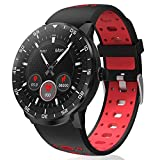 Smart Watch Fitness Tracker, HopoFit HF06 Full Circle Touch Screen Smartwatch with Heart Rate...