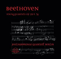 Beethoven: Streichquartette Op. 59 & 74