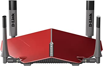 D-Link AC3150 Dual Band Wireless Gigabit Ultra WiFi Router with MU-MIMO and 1.4GHz Dual Core Processor (DIR-885L/R)