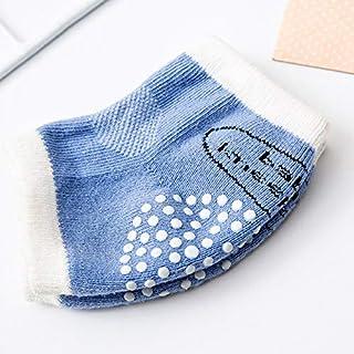 YEESEU, Infantil del bebé del niño Anti Slip rodilla se arrastra Cojín de ratón seguridad del protector del calentador de la pierna Niñas Niños Calcetines Calentadores de la pierna Ropa de bebé .Vestit