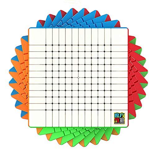 LiangCuber Moyu Meilong 12x12 Speed Cube Stickerless,Moyu Cubing Classroom MoFang JianShi MFJS 12x12x12 Magic Cube 93mm Puzzle Toy