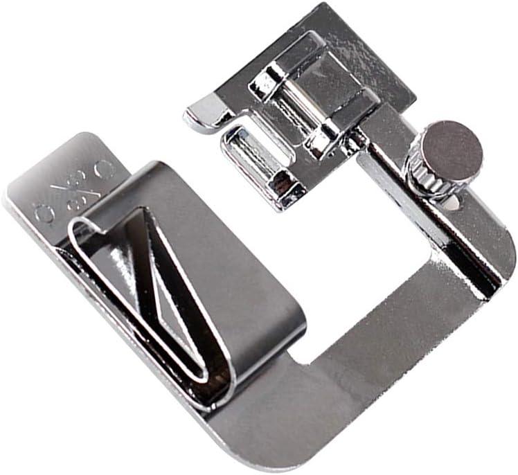 SUPVOX Weekly update Rolled Hemmer Finally popular brand Presser L Foot Domestic Roller