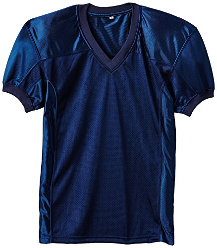 Full Force Herren Trikot Profi Football Shirt Gamejersey NY, blau, 5XL, FF0208110319