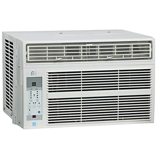Perfect Aire 4PAC6000 6,000 BTU Window Air Conditioner with Remote Control, EER 12.2, 150-250 Sq. Ft. Coverage