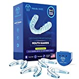 Dentance Professional Dental Guards – Set of 4 USA Designed Mouth Guard - Custom Fit - No BPA - Dental Guards for Teeth Grinding & Sport Athletes - Regular & Heavy Duty protection - Teeth Whitening
