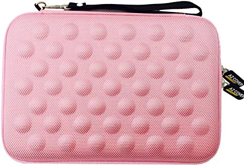 AZ Cover 7 Inch Tablet Semi rigid EVA Bubble Foam Case Pink With Wrist Strap For Polaroid S7 product image