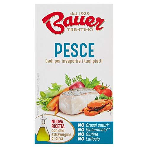 Bauer Dado per Brodo di Pesce 60 G (Ast.X 6 Dadi) - 60 g
