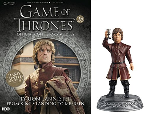 HBO - Figura de Resina Juego de Tronos. Game of Thrones Collection Nº 28 Tyrion Lannister