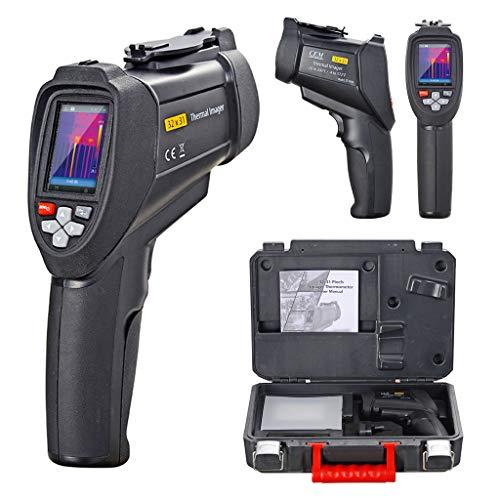 2,2 Zoll LCD HD Schwarz Infrarot-Hand-Wärmebildkamera zum Industrie, Hohe Präzision IR-Wärmebildkamera, Heiße und kalte automatische Verfolgung, Thermische Empfindlichkeit <150MK, 320 * 240