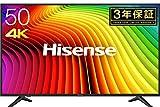 ハイセンス 50V型 4K対応液晶テレビ -外付けHDD録画対応(裏番組録画)/メーカー3年保証- 50A6100