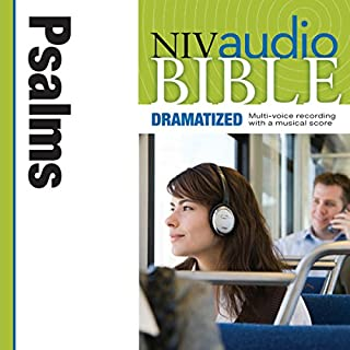 Dramatized Audio Bible - New International Version, NIV: (18) Psalms audiobook cover art