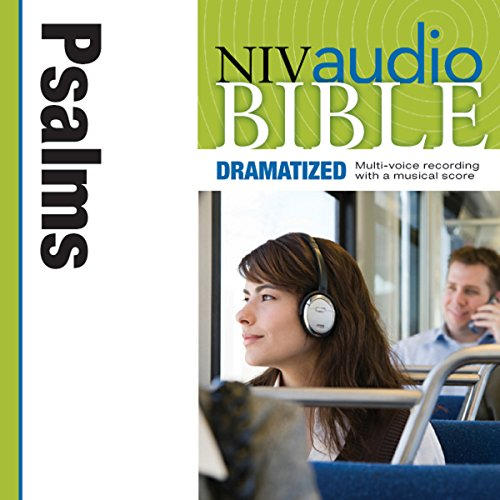 NIV Audio Bible: Psalms (Dramatized) audiobook cover art