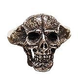 [ジェンマ] Gemma ジュエリー シルバ- アクセサリー メンズ リング 指輪 髑髏 頭蓋骨 ドクロ スカル シルバー S925 Skull-Rings-GS-R1701 [ギフトラッピング付!] (23)