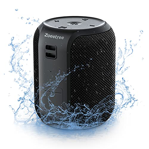 Bluetoothスピーカー S12mini ステレオ 重低音 IPX7防水 ブルートゥーススピーカー ワイヤレス 大音量 16W高出力 28時間連続再生 Type-C充電 ハンズフリー通話 スマホスピーカー TWS対応 内蔵マイク ポータブル 風呂スピーカー 無線 ワイヤレススピーカー