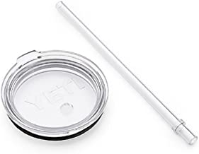 Yeti Rambler Shatter-proof Dishwasher-safe Replacement Lid and Straw
