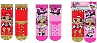 Pack de dos pares de calcetines de Lol Surprise 31/34