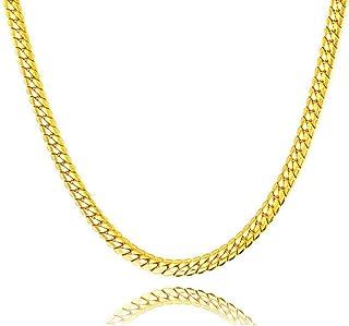 Liquidazione offerte, Fittingran Liquidazione Offerte Hip Hop Collana con Ciondolo Uomo Donna Moda Luxury Filled Curb Coll...