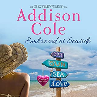 Embraced at Seaside      Sweet with Heat: Seaside Summers, Book 8              By:                                                                                                                                 Addison Cole                               Narrated by:                                                                                                                                 Maxine Mitchell,                                                                                        Joe Arden                      Length: 7 hrs and 9 mins     26 ratings     Overall 4.7