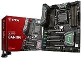 MSI Enthusiast Gaming Intel X299 LGA 2066 DDR4 USB 3.1 SLI ATX Motherboard (X299 Gaming M7 ACK)
