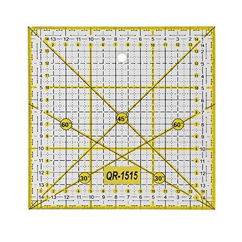 Regla de patchwork multifuncional, herramienta de costura para manualidades, regla especial, regla de costura manual, regla de retazos (01)