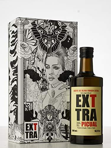 EXTTRA Picual 500 Ml + Caja Regalo MARVEL (Edición Limitada) - Aceite de oliva virgen extra