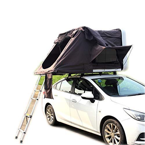 DUTUI Vollautomatisches Hartschalen-Dachzelt Mit Seitlicher Öffnung, Dachbett Für Autos Im Freien, Selbstfahrendes Campingdachzelt, Geräumig