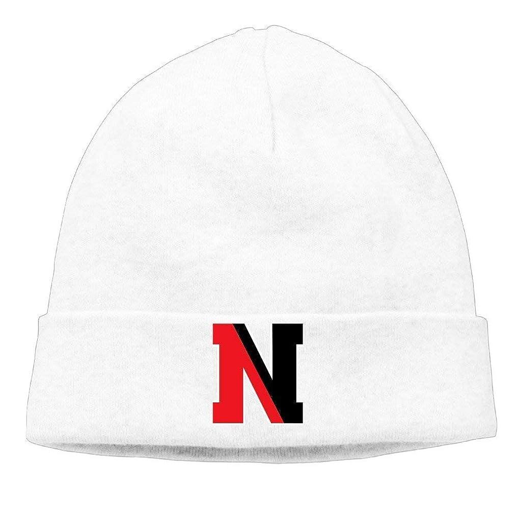 luckwe5 Unisex Northeastern University N Logo Beanie Cap Hat Ski Hat Cap Snowboard Hat Black