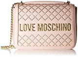 love moschino pu, borsa da donna, rosa, normale