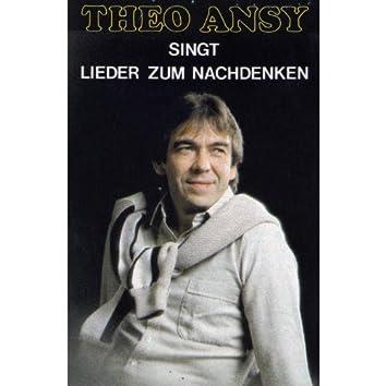 Theo Ansy singt Lieder zum Nachdenken