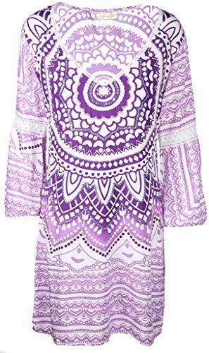 Salty Skin Damen Kleid Größe XL Violett (lila)