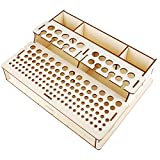 NW Leather Tool Holder Wooden Leather Craft Tool Holder Leather Tool Organizer Wooden Box Leather Tools Storage Box Shelf (104)