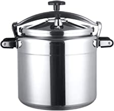 JBHURF Commercial Pressure Cooker Large Capacity 50L Household Slow Cooker steam Oven Suitable for Commercial Home Restaurant Restaurant Hotel Kitchen etc (Color : Silver, Size : 35L)