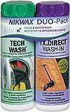 Nikwax Tech waschen und TX Direct Doppel Packung -