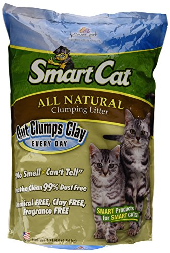 SmartCat All Natural Clumping Litter, 10-Pound