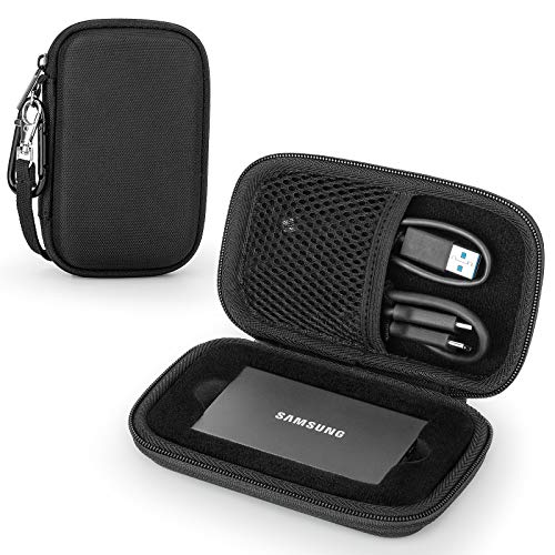 Custodia per Samsung Memorie T7/ T7 Touch SSD Esterno Portatile, Protettiva Cover Case (for One SSD)