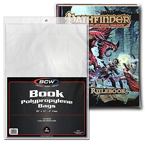 Sleeves 7 1//4 x 10 1//2 Poly 100 BCW Silver Age Comic THICK RESEALABLE Bags