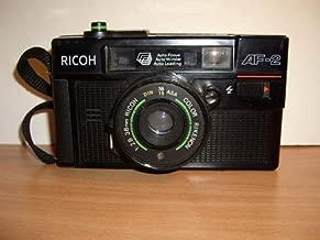 Ricoh AF-2 35mm Filmed Camera 1:2.8 38mm Ricoh Color Rikenon 35mm Filmed Flash Camera