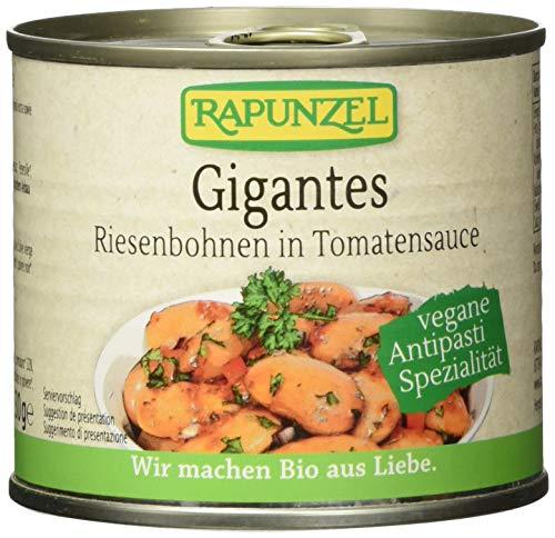 Rapunzel Gigantes Riesenbohnen in Tomatensauce, 1er Pack (1 x 230 g) - Bio